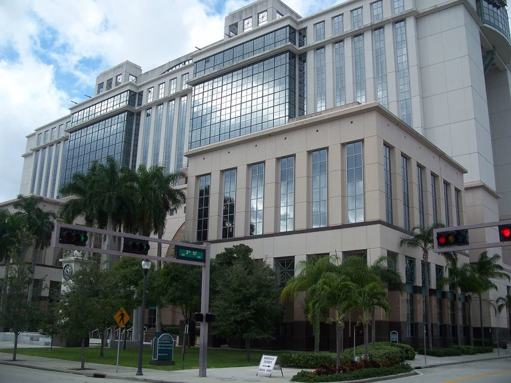 West Palm Beach Florida Courthouse